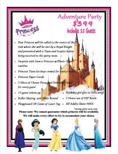 Frozen or Disney Princess Party
