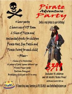 Pirate Party at Starlite of Sharpsburg